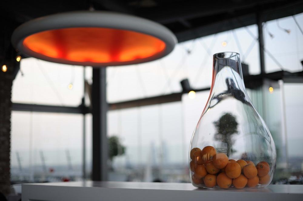 photoblog image detalle de restaurante pijo